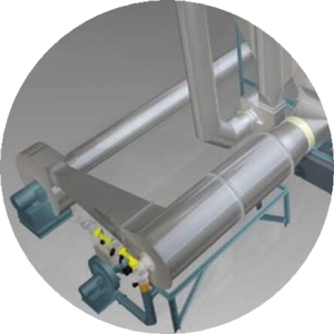 Tema Process Fluid Bed Dryer Heating