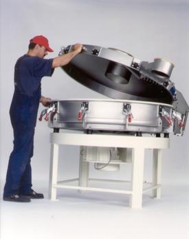 Allgaier VTS vibratory screen