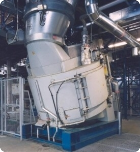 Eirich Evactherm mixer