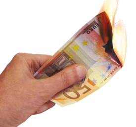 Fire is costing you a lot of money