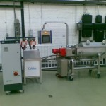 Celsius screw heat exchanger