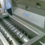 Celsius paddle type screw heat exchanger