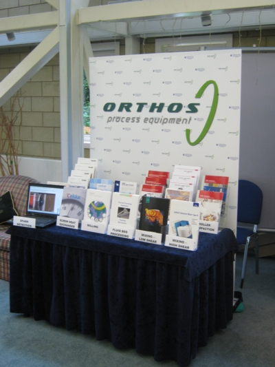Orthos' table at the Shapa Knowledge Conference