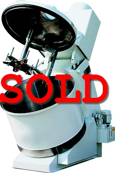 Used Eirich mixer R09W for sale from Orthos