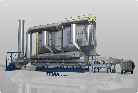 Tema Process RDF dryer plant