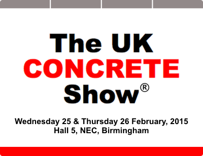 UK Concrete Show 2015 logo