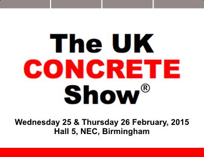 UK Concrete Show 2015 logo