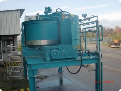 Eirich mixers factory refurbished