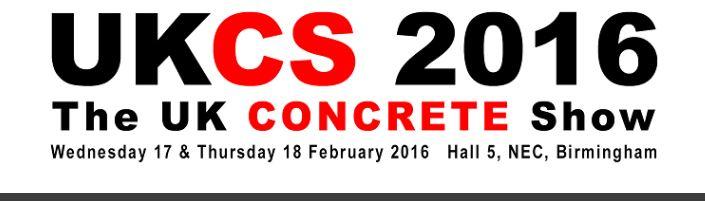 Visit Orthos at UK Concrete Show 2016